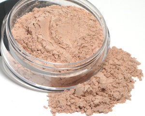 Luminescent Rose Beige Mineral Veil