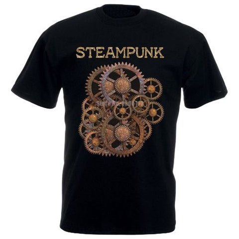 T-Shirt Steampunk Engrenage