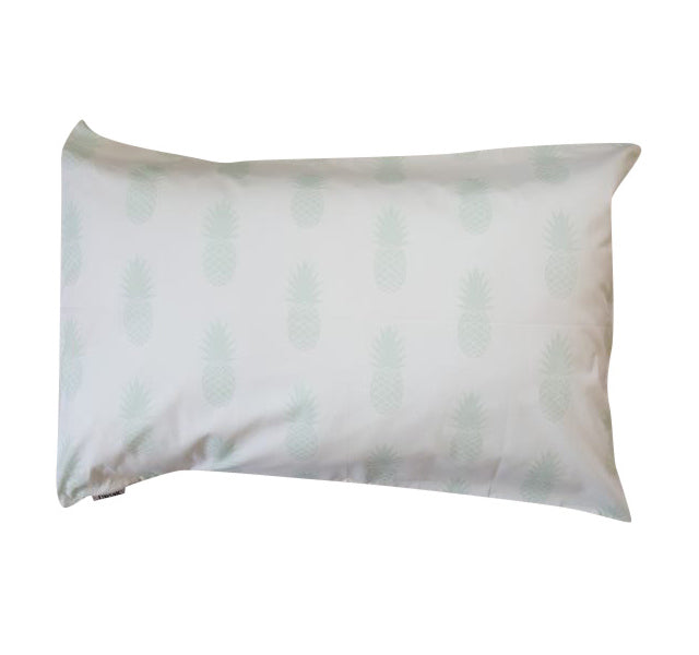 Mint Pineapples Pillowcase