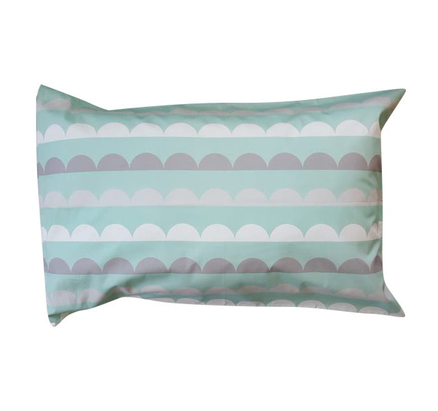 Geo Mint Pillowcase