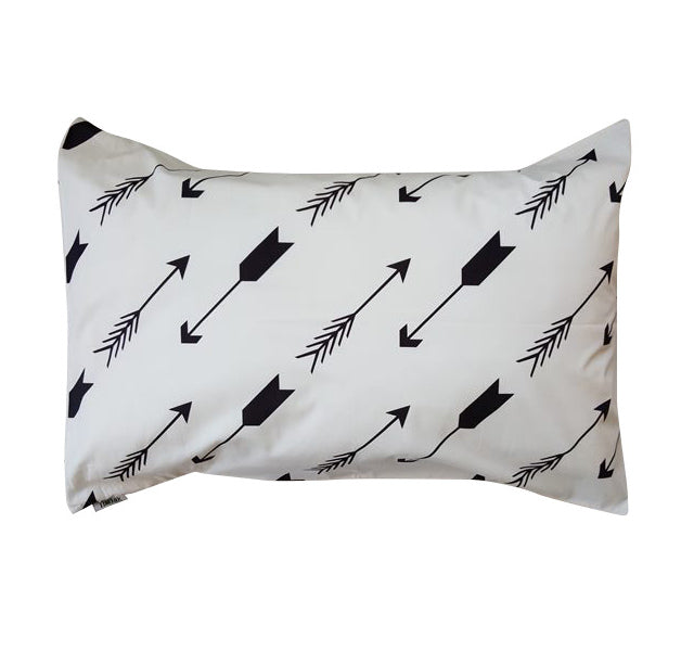 Black and White Arrows Pillowcase