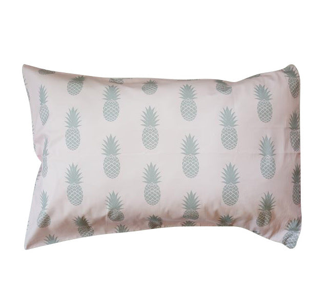 Pink Pineapples Pillowcase