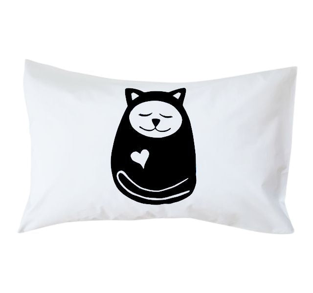 Sleepy Cat Pillowcase