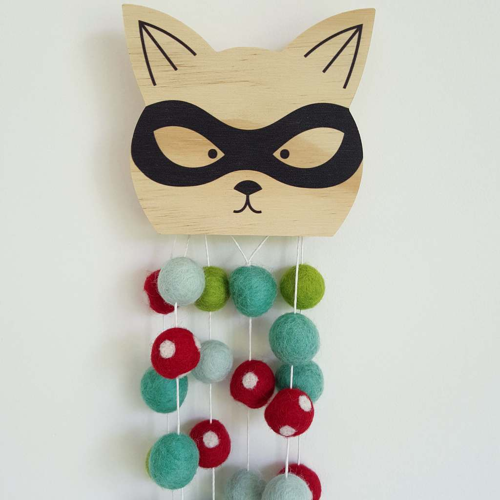 Sneaky Cat Removable Wall Hook
