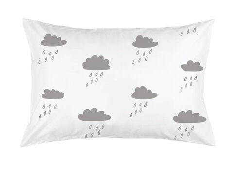Rainy Days Pillowcase by Burrow & Be