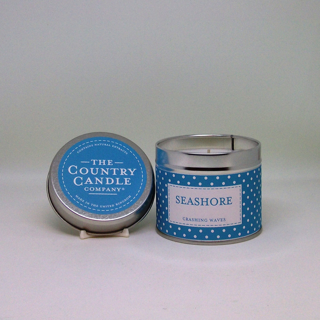 Seashore Scented Tin Candle