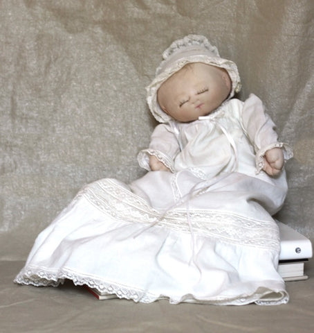 Heirloom Christening Gown for Hug-A-Bye Baby