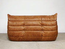 Afbeelding in Gallery-weergave laden, VINTAGE TOGO NATURAL LEATHER