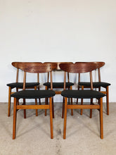 Afbeelding in Gallery-weergave laden, FARSTRUP CHAIRS BLACK (SET OF 5)