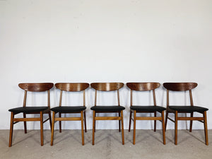 FARSTRUP CHAIRS BLACK (SET OF 5)