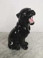 Afbeelding in Gallery-weergave laden, BLACK CERAMIC PANTHER