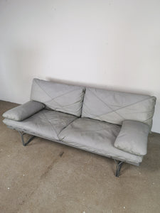 NIELS GAMMELGAARD SOFA IN GREY LEATHER