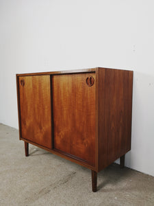 DANISH CABINET W/ SLIDING DOORS  II