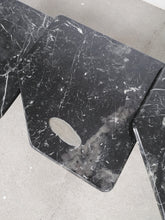 Afbeelding in Gallery-weergave laden, BLACK MARBLE NESTING TABLES