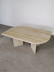 TRAVERTIN COFFEETABLE LEAF