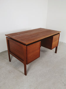 DANISH TEAK DESK BY GV MOBLER