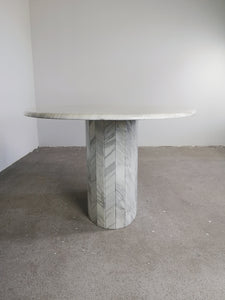 OVAL MARBLE TABLE II