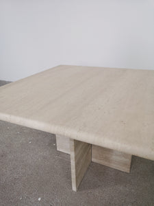 SMALL TRAVERTIN TABLE