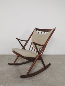 BRAMIN ROCKING CHAIR TEAK