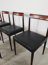 Afbeelding in Gallery-weergave laden, LUBKE ROSEWOOD DINING CHAIRS