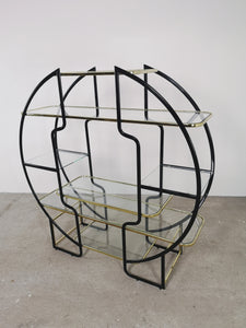 <transcy>BLACK &amp; GOLD ROOM DIVIDER</transcy>