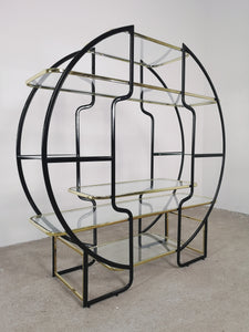 BLACK & GOLD ROOM DIVIDER