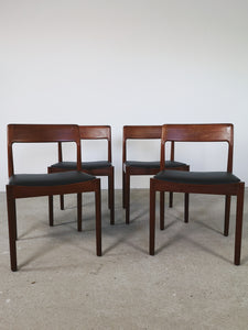 KAI KRISTIANSEN DINING CHAIRS (SET OF 4)
