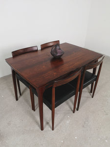 ROSEWOOD EXTENDABLE DINING TABLE