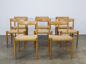 H.W. KLEIN FOR BRAMIN DINING CHAIRS (SET OF 4)