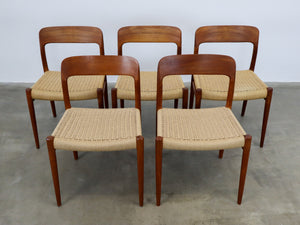 MOLLER NO. 75 CHAIRS (SET OF 5)