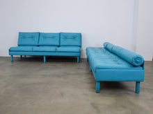 Load image into Gallery view, BLUE SPACEY SOFAS
