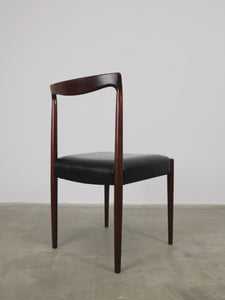 ROSEWOOD LUBKE CHAIRS (SET OF 4)