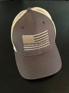 Brown AO Merica' Hat