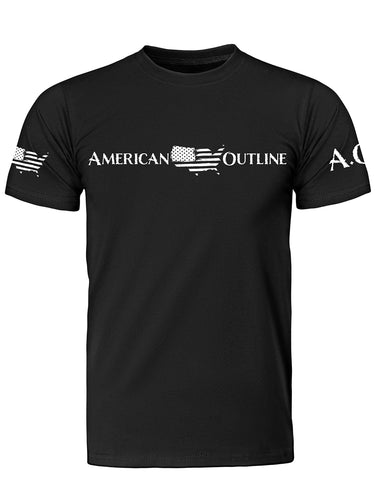 AO Original Black T Shirt