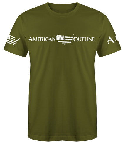 AO Original Green T Shirt.