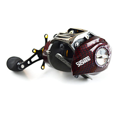 fishing reel baitcast reels 6 3 1 18 ball bearings right handed left handed bait casting lure fishing bc150 shishamo