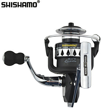 Fishing Reel Spinning Reel 4.7:1 Gear Ratio+13 Ball Bearings Hand Orientation Exchangable Sea Fishing / Bait Casting / Ice Fishing - RX6000 / Jigging Fishing / Freshwater Fishing / Carp Fishing