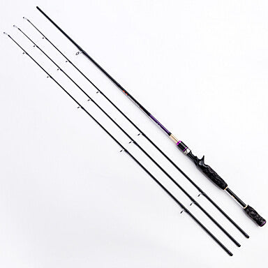 leiting 2 1m lure rod high quality carbon casting fishing rod m ml mh 1rod 3 end sections m mh ml included