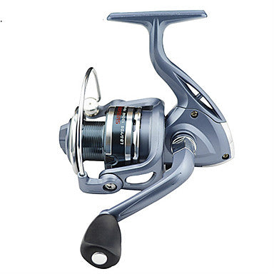 Fishing Reel Spinning Reel 5.5:1 Gear Ratio+6 Ball Bearings Right-handed / Left-handed / Hand Orientation Exchangable Sea Fishing / Bait Casting / Ice Fishing - BASIC4000 / Jigging Fishing