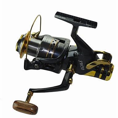 Fishing Reel Carp Fishing Reels 5.2:1 Gear Ratio+10 Ball Bearings Hand Orientation Exchangable Sea Fishing / Spinning / Freshwater Fishing - SW60 / General Fishing / Trolling & Boat Fishing
