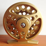 Fishing Reel Fly Reel 1:1 Gear Ratio+3 Ball Bearings Right-handed / Left-handed / Hand Orientation Exchangable Fly Fishing