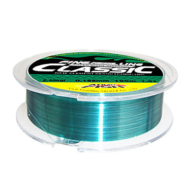 Monofilament Fishing Line 100M / 110 Yards 150M / 165 Yards 250M / 275 Yards 20LB 16LB 15LB 0.165/0.181/0.203/0.234/0.261/0.286/0.309/0.331/0.370 mm / 12LB / 10LB / 8LB / 4LB