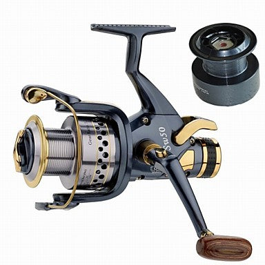Fishing Reel Carp Fishing Reels 5.2:1 Gear Ratio+10 Ball Bearings Hand Orientation Exchangable Sea Fishing / Spinning / Freshwater Fishing - SW6000 / General Fishing / Trolling & Boat Fishing