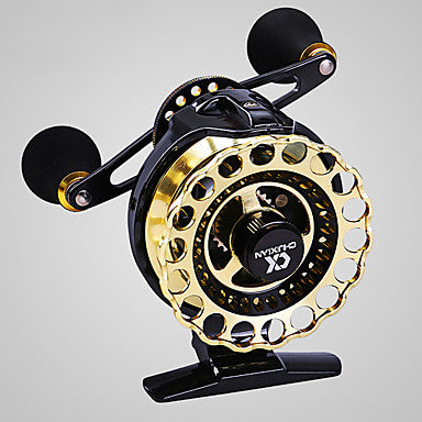 Fishing Reel Fly Reel 4.3:1 Gear Ratio+8 Ball Bearings Right-handed / Left-handed Fly Fishing / Bait Casting / Freshwater Fishing