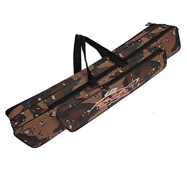 120cm Fishing Rod Bag Multifunctional Durable Waterproof Camouflage
