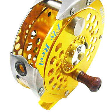 Fishing Reel Fly Reel 1:1 Gear Ratio+1 Ball Bearings Fly Fishing