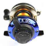 Fishing Reel Baitcasting Reel 3.6:1 Gear Ratio Ball Bearings Right-handed Freshwater Fishing