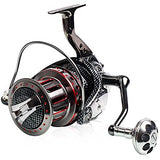 Fishing Reel Spinning Reel / Trolling Reel 4.7:1 Gear Ratio+11 Ball Bearings Hand Orientation Exchangable Sea Fishing / Bait Casting / Ice Fishing - AFL12000 / Jigging Fishing / Freshwater Fishing