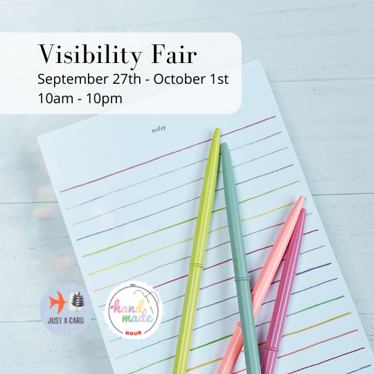 Visibility Fair presented by Just a Card
