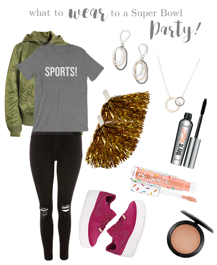 What to Wear to a Super Bowl Party